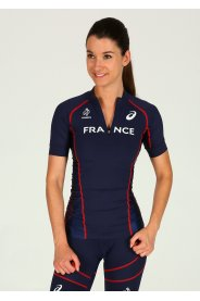 Asics Half Zip Top Rio Équipe de France W