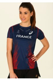 Asics Tee-shirt manches courtes Équipe de France W